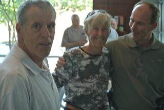 Lee Frausel, Dee Deyen and Kent Robinson