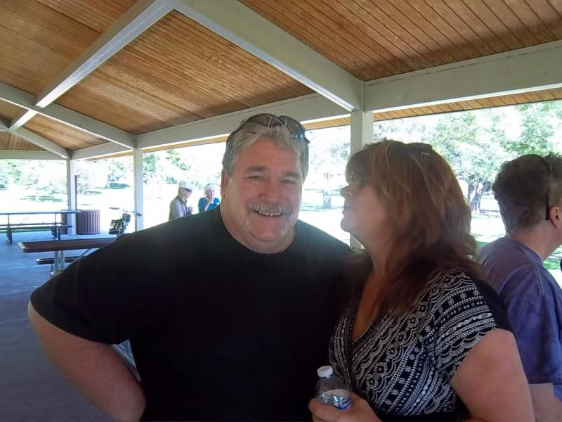 Mike Thornton & Judy Dalgren Aug 2012